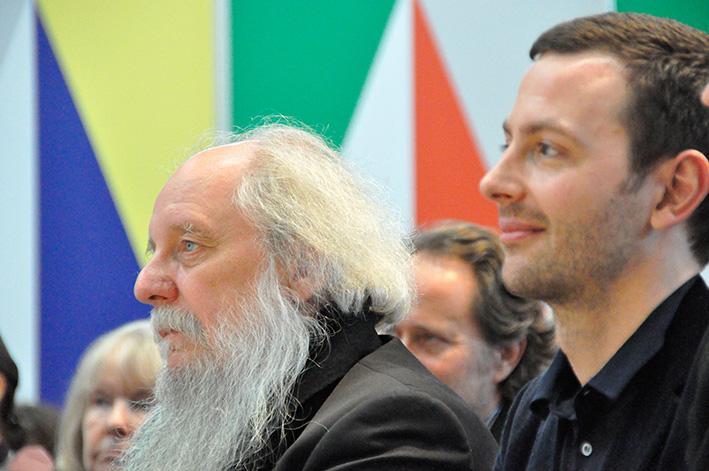 Preisträger Klaus Schöffling und Sebastian Guggolz