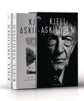 Kjell Askildsen: Ich bin ein wortkarger Mann, doch gelegentlich führe ich Selbstgespräche (Bd.1), Man lernt, solange man lebt, wozu auch immer das gut sein soll (Bd. 2). Luchterhand 2019. Aus dem Norwegischen von Hinrich Schmidt-Henkel. 1.059 Seiten. 48,- Euro.
