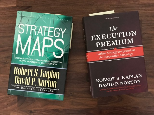 Strategy Maps, Execution Premium book covers