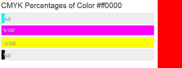 marketing color codes CMYK
