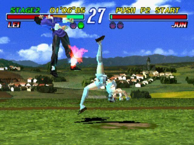 Tekken 2 - Jun and Lei