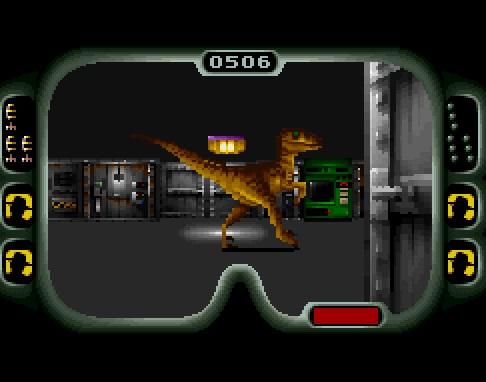 Jurassic Park - Prancing Raptor