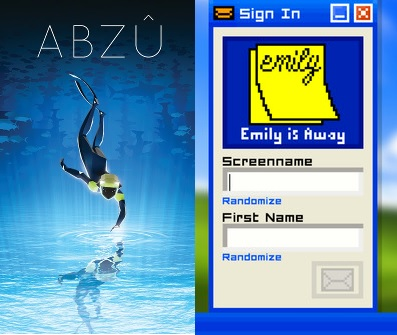 Let's Intelliplay: ABZÛ and Emily is Away from 5p-9p PST
