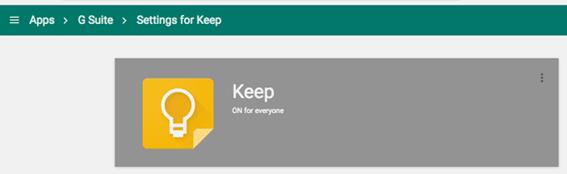 Google Keep