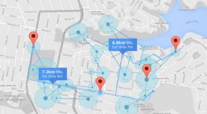 Posicionar serviços Google Maps