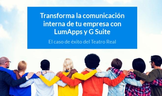 Webinar: transforma la comunicación interna con LumApps y G Suite