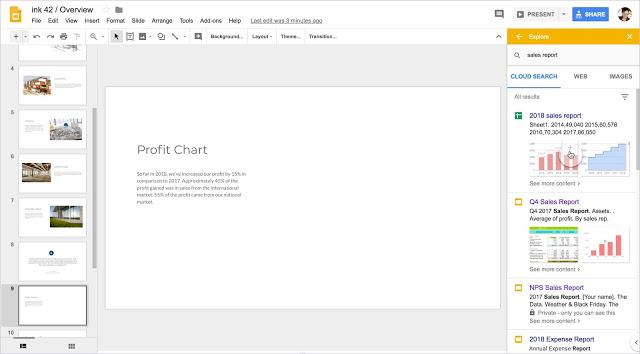 Novidades e alterações Google
