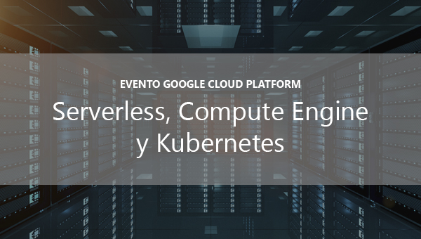 evento Google cloud Platform