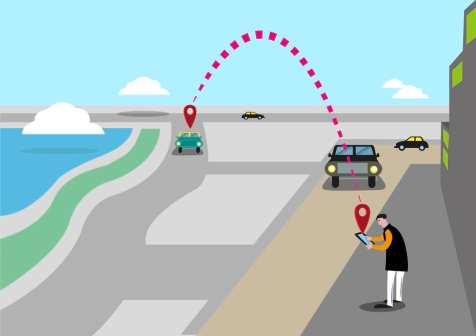 Transporte compartido con Google Maps