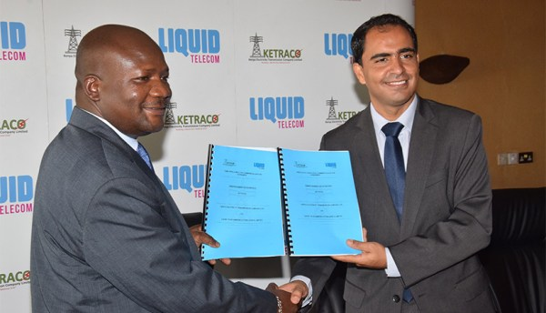 Liquid Telecom and KETRACO to build fibre network across East Africa