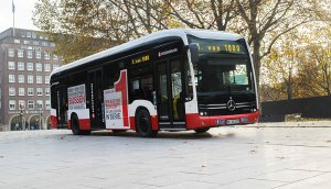 Mercedes-Benz supplies first fully electrical urban bus