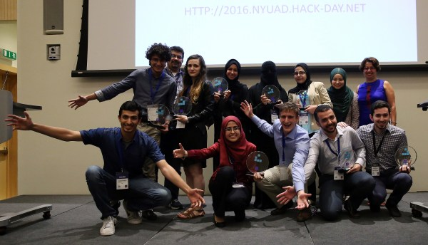 Crowdsourcing app takes first place at NYUAD's Hackathon
