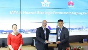 Huawei announces Strategic Partnership with the International Air Transport Association