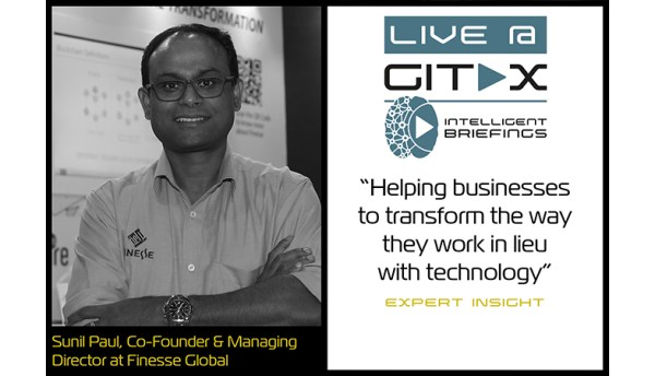 Live @ GITEX: Sunil Paul, Co-Founder & Managing Director at Finesse Global