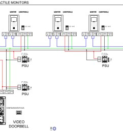 4 wire intercom wiring instruction diagram wiring diagram third level doorbell wiring diagram light 3 wire [ 3378 x 1639 Pixel ]