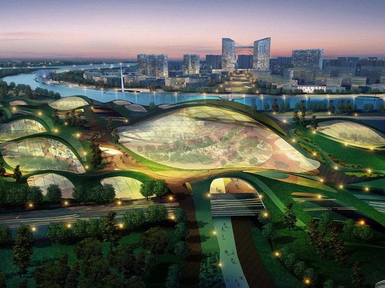 Tianjin Eco City Image source: Smescience.com