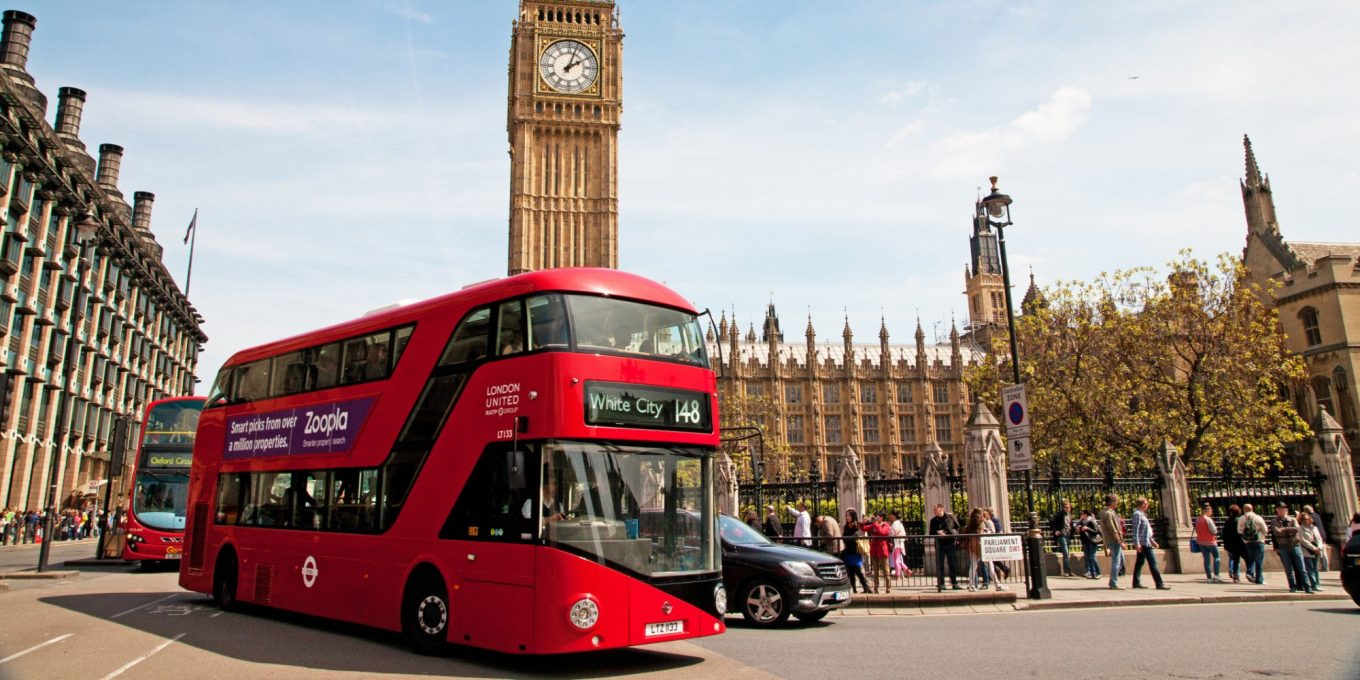 london bus - Tech is Transforming Mass Transit in Global Cities — Here's How