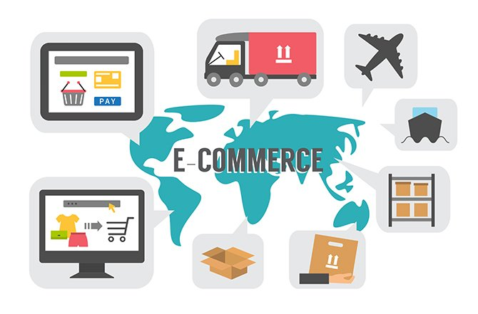 eCommerce 1 670x441 - The Evolution of the Ecommerce Market