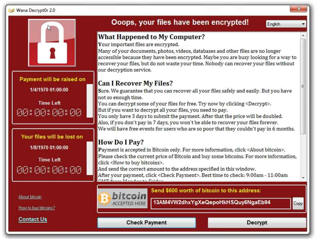wannacry - Cyber-crime: The 21st Century Disease