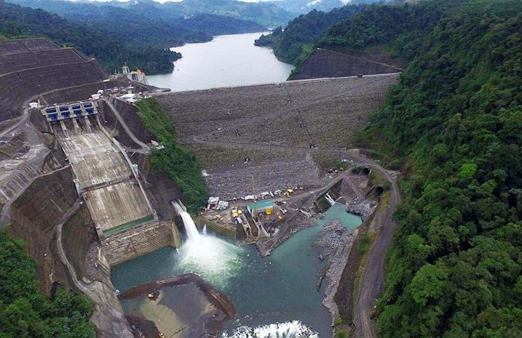 A dam in Costa Rica