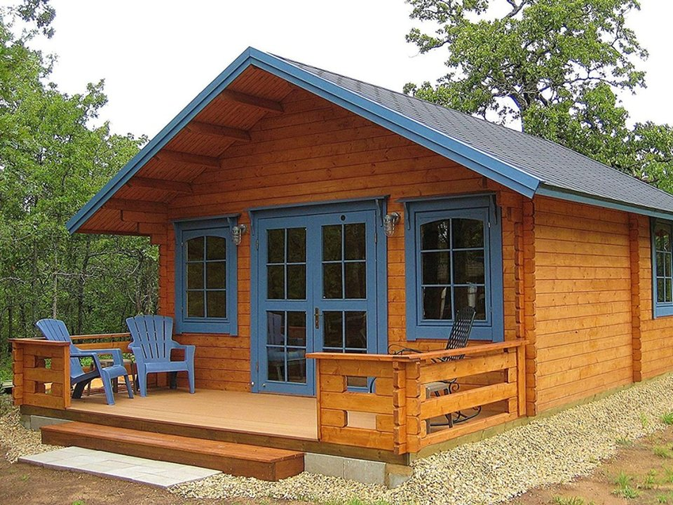 Build This Cozy Cabin Cozy Cabin Magazine Do It Yourself: Amazon Sells Do-it-yourself Tiny House Kit That Takes Only