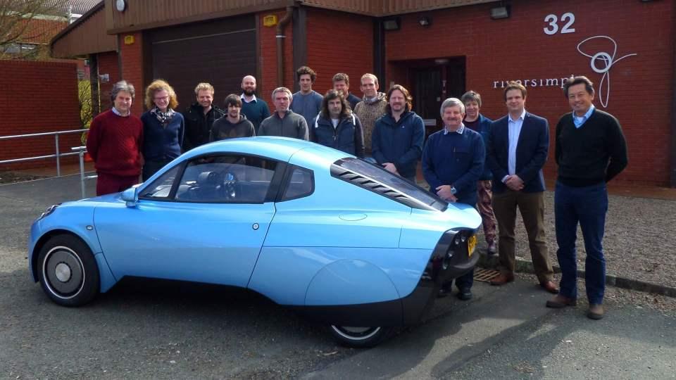 The Rasa hydrogen powered car