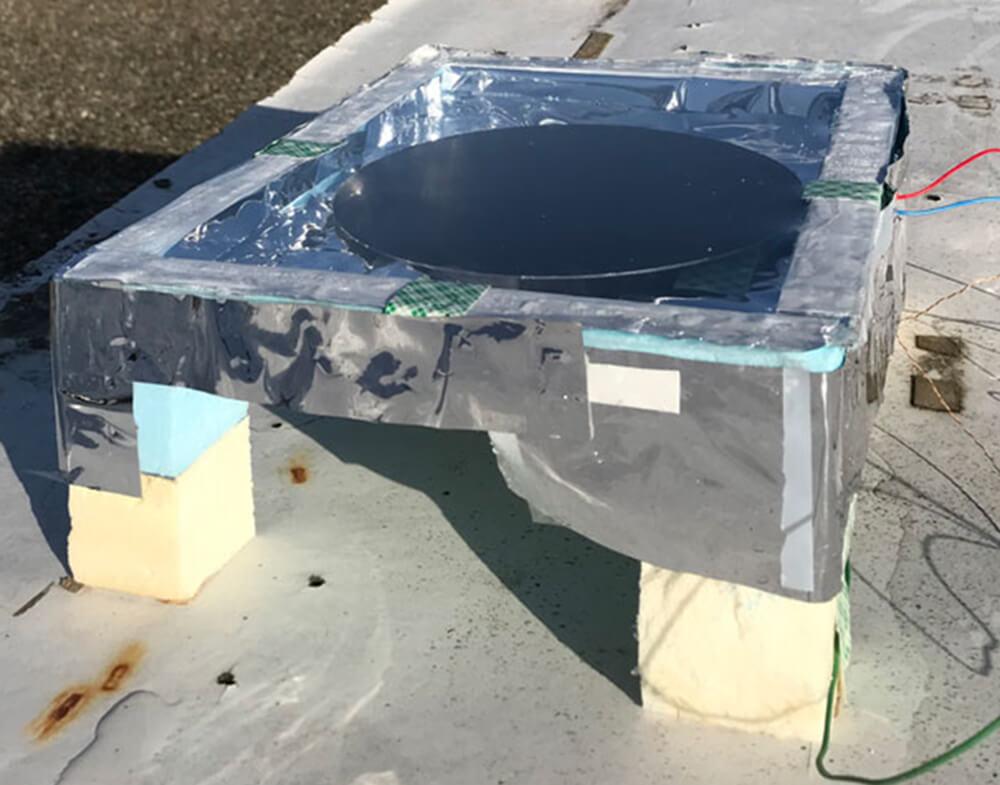 The anti-solar panel
