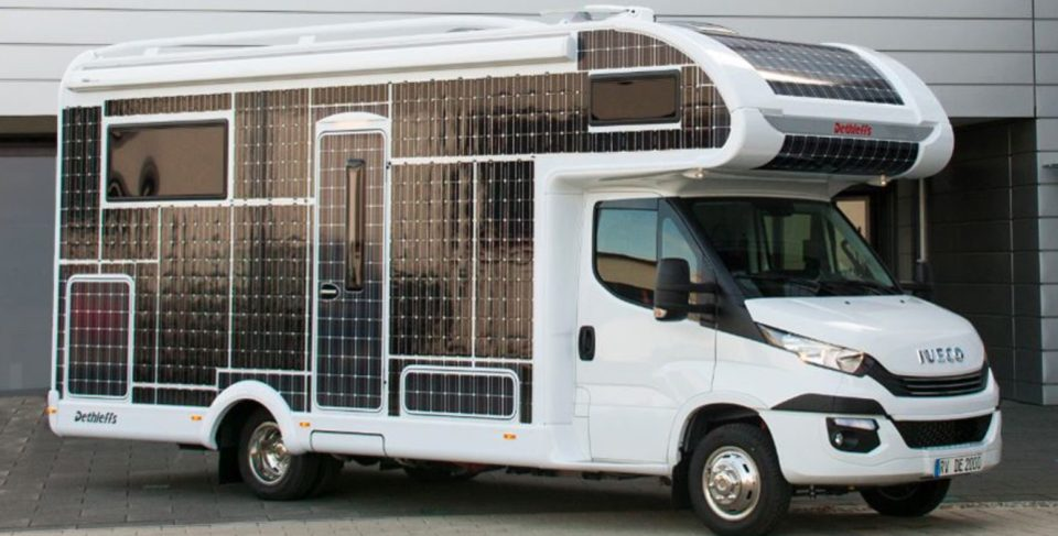 This Solar Powered Rv Runs Without Fuel Or Charging Stations