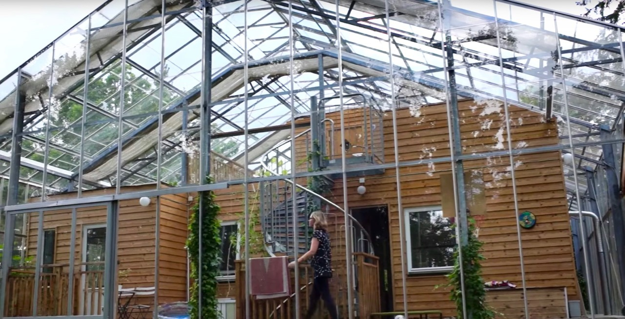 Swedish Couple Builds A Greenhouse Around Their Stockholm Home
