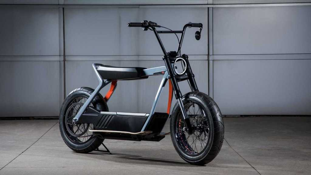 Harley-Davidson concept electric scooter