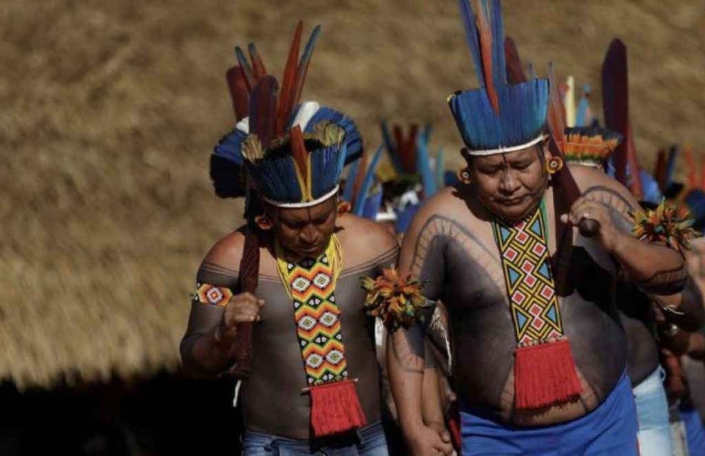 Amazon Tribes Gather To Make Resistance Plan To Protect Their Amazon