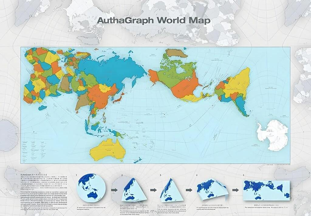 This Is The Most Accurate Map Of The World Ever Produced