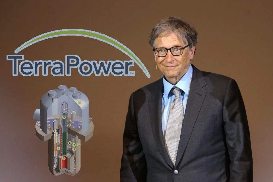 Bill Gates Debuts Mini-Reactor + Energy Storage To Balance Renewables