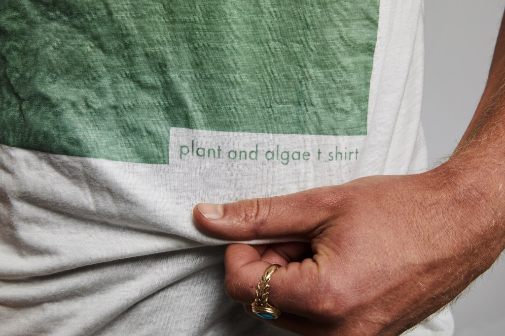 T-Shirt Made From Algae And Wood Becomes Worm Food In 12 Weeks