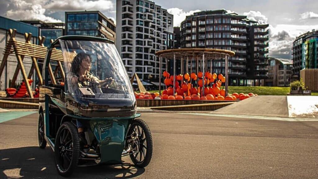 A Four-Wheeled Fusion Of A Car And An Ebike
