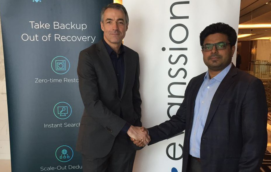Evanssion signs distribution agreement with Rubrik