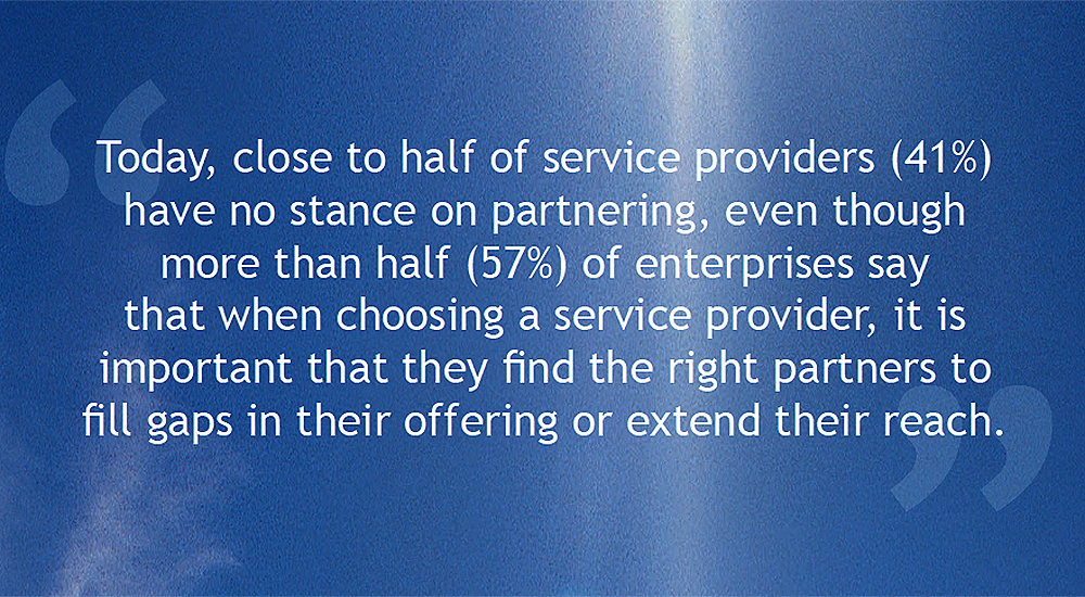Service providers need to offer partner led solutions, Tata Communications survey