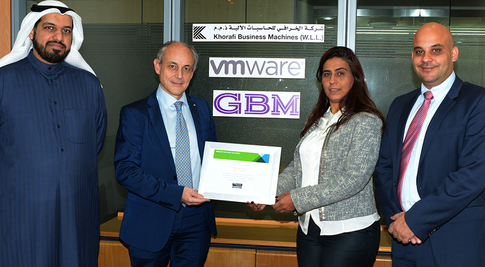 Khorafi Business Machines recognised as VMware professional services partner