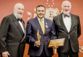 STME and CEO Ayman Albayaa felicitated at Oxford's Summit of Leaders