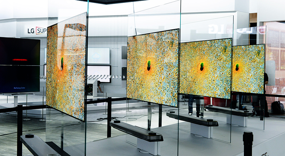 LG increases share in premium TV segment with OLED TV