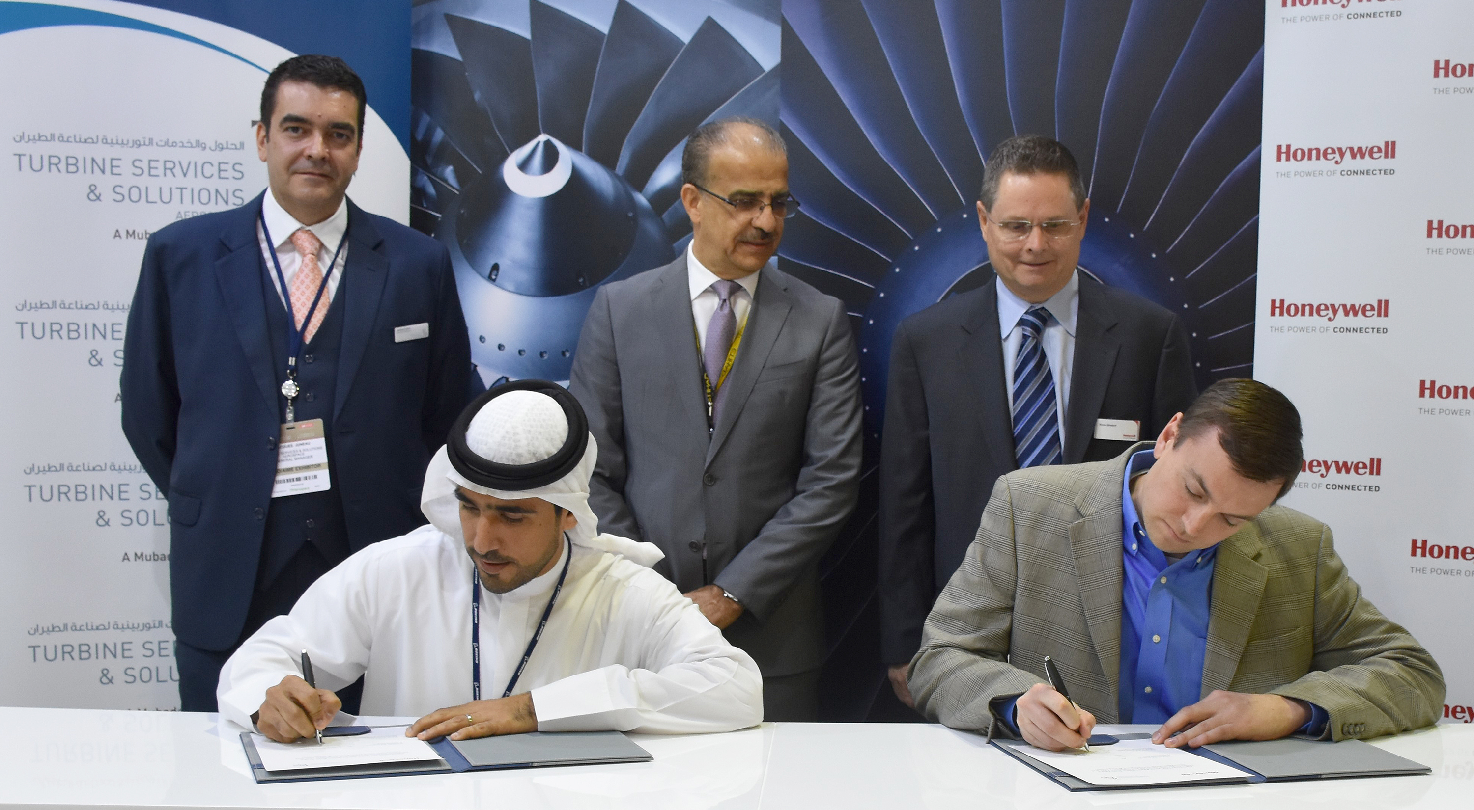 Mubadala's Turbine Services Solutions to use Honeywell's Maintenance voice system