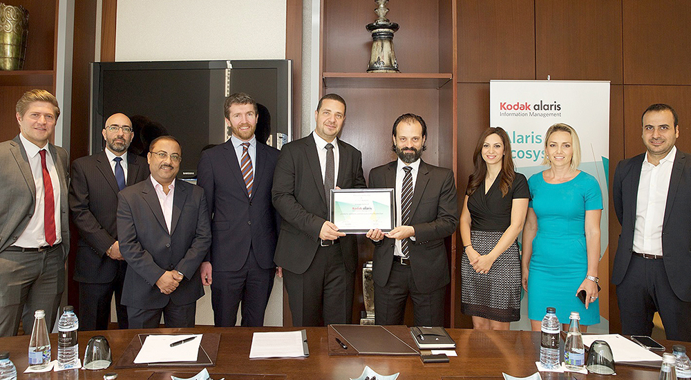 Mindware appointed as value added distributor for Kodak Alaris in MENA and Pakistan