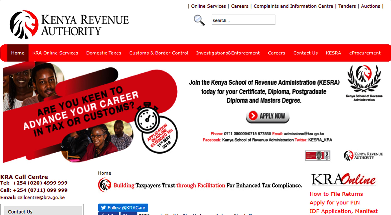Oracle CRM Cloud helps Kenya Revenue Authority introduce standardised approach
