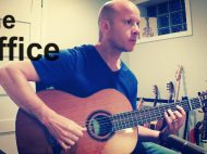 The Office: theme for classical guitar