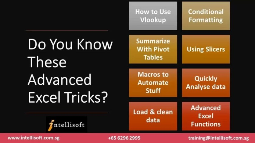 Do You Know These Advanced Excel Tips & Tricks?