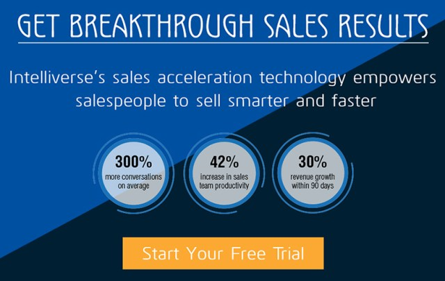Intelliverse Sales Acceleration Software
