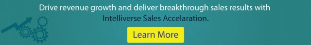 Get a free trial of Intelliverse Sales acceleration software