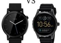 Fossil Q vs. Moto 360