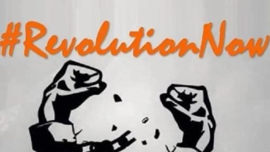 #RevolutionNow