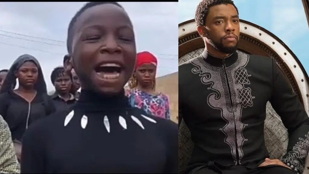 Ikorodu Bois pay touching tribute to Chadwick Boseman, remake Black Panther  scenes (video) | Intel Region